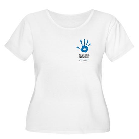 Mpm Logo Women's Scoop Neck Plus Size T-Shirt