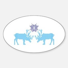 Sweater Moose Decal