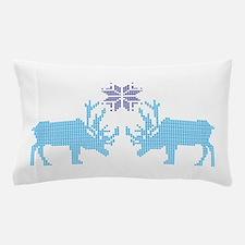 Sweater Moose Pillow Case