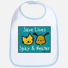 Save Lives Spay & Neuter Bib