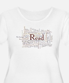 Literature: 100 Best Books of All Time Plus Size T