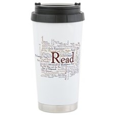 Cute Reading Travel Mug