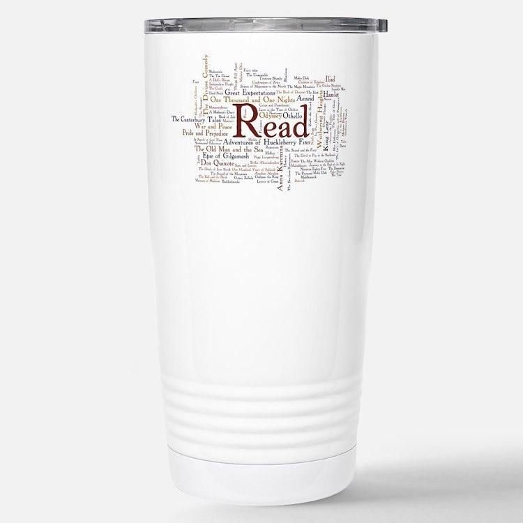 Cute Literature Travel Mug