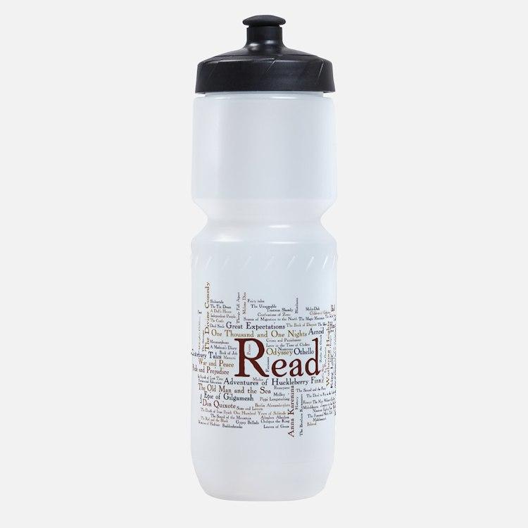 Cute Read Sports Bottle