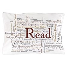 Cute Reading Pillow Case