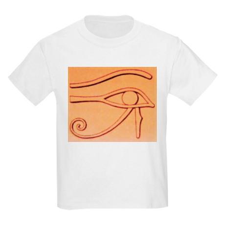 Right Eye Of Horus Kids Light T-Shirt