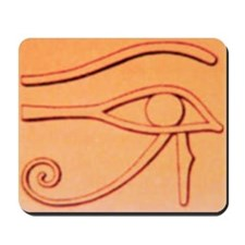 Right Eye Of Horus Mousepad