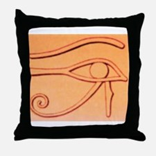 Right Eye Of Horus Throw Pillow