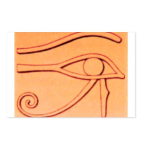 Right Eye Of Horus Postcards (Package of 8)