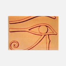 Right Eye Of Horus Rectangle Magnet