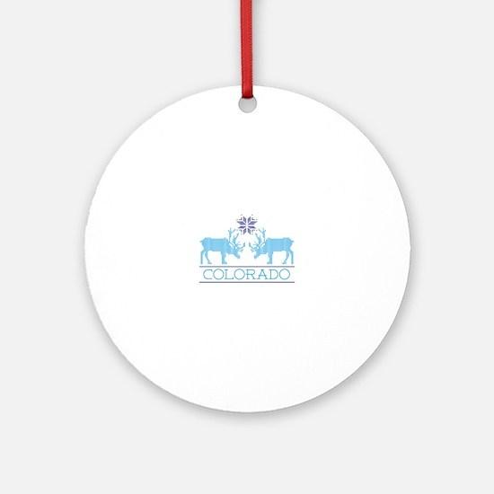 Colorado Ornament (Round)