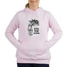 Cute Alice Women's Hooded Sweatshirt