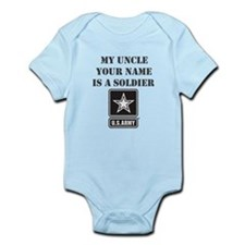 My Uncle Is A Soldier (Custom) Body Suit