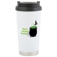 Theres Mischief Brewing Travel Mug