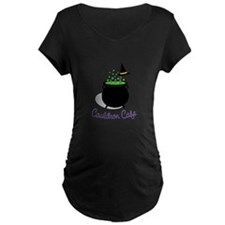 Cauldron Cafe Maternity T-Shirt
