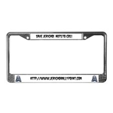 Unique Nut License Plate Frame