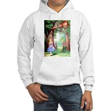 Alice and the Cheshire Cat Hoodie