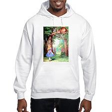 Alice and the Cheshire Cat Hoodie Sweatshirt