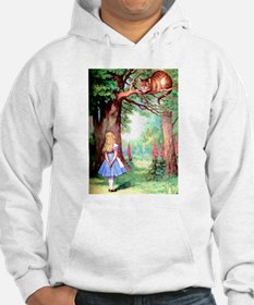 Alice and the Cheshire Cat Hoodie Sweatshirt