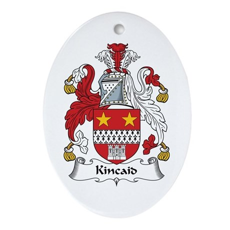 Kincaid Oval Ornament