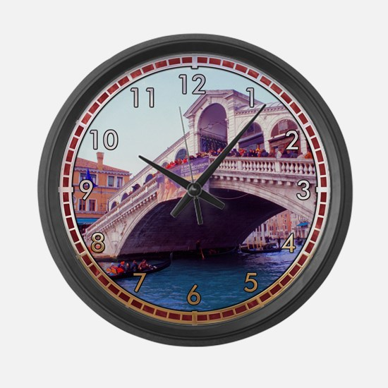 Ponte Rialto Large Wall Clock