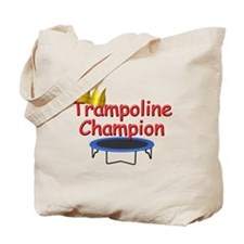 Trampoline Champ Tote Bag