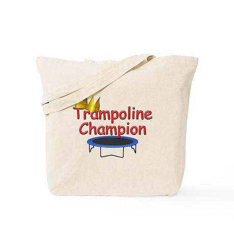 Trampoline Champ Tote Bag