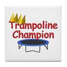 Trampoline Champ Tile Coaster