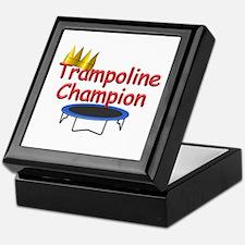 Trampoline Champ Keepsake Box