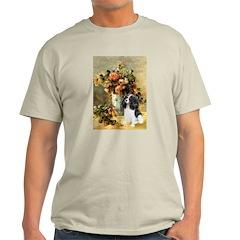 Flowers & Tri Cavalier T-Shirt