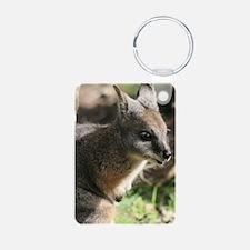 Wallaby in Australia Keychains