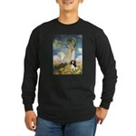 Umbrella / Tri Cavalier Long Sleeve Dark T-Shirt