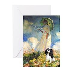Umbrella / Tri Cavalier Greeting Cards (Pk of 10)