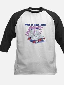 How I Roll (Roller Skates) Tee