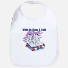How I Roll (Roller Skates) Bib