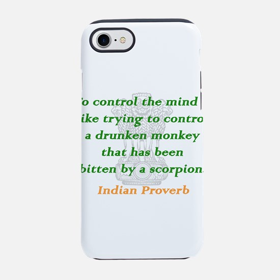 To Control the Mind iPhone 7 Tough Case