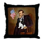 Lincoln & Tri Cavalier Throw Pillow