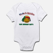 Beninoise American Infant Bodysuit