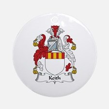 Keith Ornament (Round)
