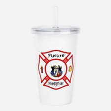 Future Firefighter Acrylic Double-wall Tumbler
