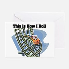 How I Roll (Roller Coaster) Greeting Cards (Packag