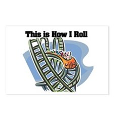 How I Roll (Roller Coaster) Postcards (Package of