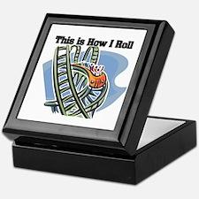How I Roll (Roller Coaster) Keepsake Box
