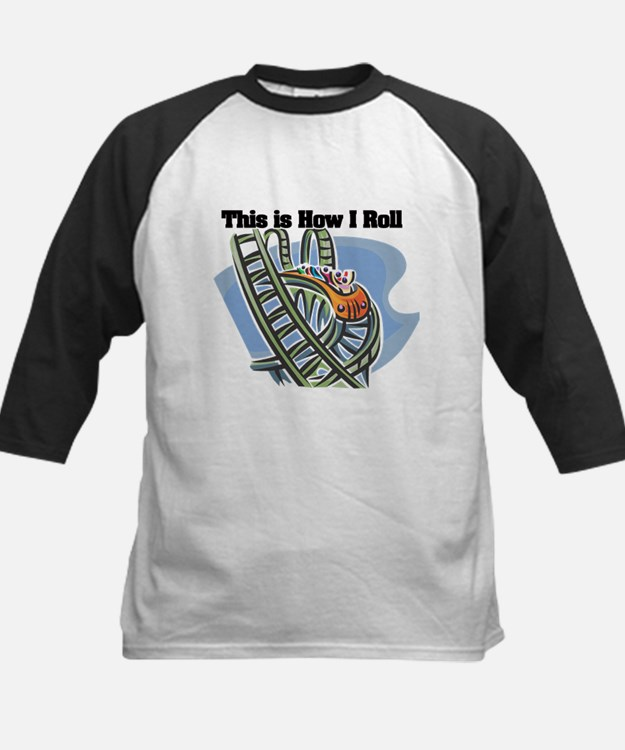 How I Roll (Roller Coaster) Tee