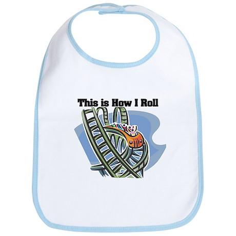 How I Roll (Roller Coaster) Bib