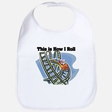 How I Roll (Roller Coaster) Bib