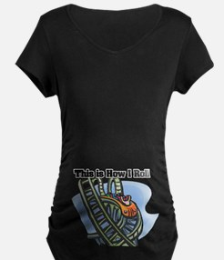 How I Roll (Roller Coaster) T-Shirt