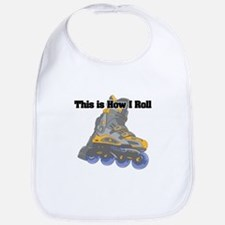 How I Roll (Roller Blades) Bib