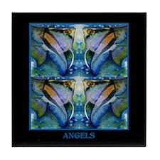 Tropical Fish-Angel Tile Coaster