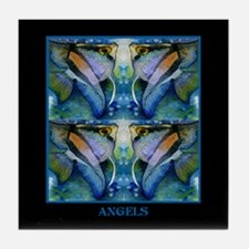 Tropical Fish-Angel Tile Coaster